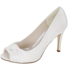 Νυφικά παπούτσια για το κεφάλι των ψαριών σατέν παπούτσια παπουτσιών παπουτσιών παπουτσιών παπουτσιών υψηλής ποιότητας