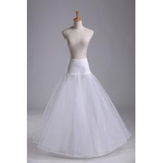Ενιαία ζάντες Μοντέρνο Πρότυπο Σπαντέξ Νυφικό φόρεμα Μεσοφόρι γάμου