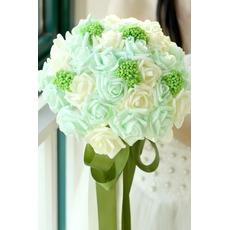 μπουκέτο Τα στηρίγματα νύφη το χέρι γαμήλια ανθοδέσμη στούντιο