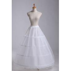 Πλήρες φόρεμα Τέσσερις ζάντες Κομψό Ρυθμιζόμενο Μεσοφόρι γάμου