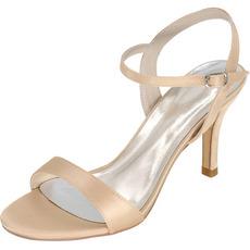 Νυφικά σανδάλια χοροεσπερίδα ψηλά τακούνια παπούτσια μόδας στιλέτο