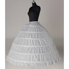 Περίμετρος Ρυθμιζόμενο Έξι ζάντες Πλήρες φόρεμα Μεσοφόρι γάμου