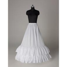Πλήρες φόρεμα κράσπεδο Πρότυπο Περίμετρος Μεσοφόρι γάμου