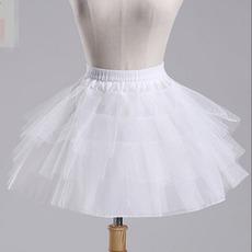 Μακρύ Σύντομη Διπλό νήμα Μοντέρνο Μπαλέτο φούστα Μεσοφόρι γάμου