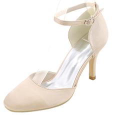 Γάμος υψηλό τακούνια γύρο toe παπούτσια φτέρνα φτέρνα