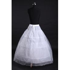 Μοντέρνο Ισχυρή καθαρή Δύο πακέτα Πλήρες φόρεμα Μεσοφόρι γάμου