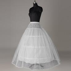 Ελαστική μέση ΣΥΡΗΤΙ δαντέλα Νυφικό φόρεμα Μεσοφόρι γάμου