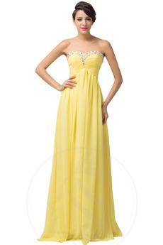 Αμάνικο Οι πτυχωμένες μπούστο Άνοιξη Δαντέλα-επάνω Βραδινά φορέματα