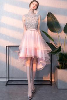 Χάντρες Φυσικό σύγχρονος Ανάποδο Τρίγωνο Κοκτέιλ φορέματα