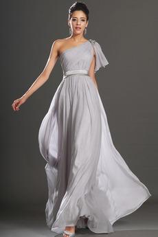 Μήκος πατωμάτων Γραμμή Α Μήλο Φυσικό Πλισέ Βραδινά φορέματα