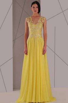 Αμάνικο Έτος 2020 Μακρύ Χάνει Χάντρες Φερμουάρ επάνω Μπάλα φορέματα