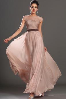 Τούλι επικάλυψης Μέχρι τον αστράγαλο Κόσμημα Βραδινά φορέματα