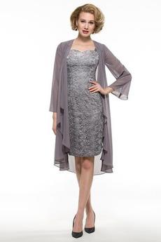 Ευρεία λουριά Μέχρι το Γόνατο Χειμώνας Κεντήματα Μητέρα φόρεμα