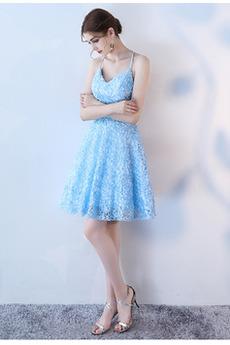 Γραμμή Α Διακοσμητικά Επιράμματα Καλοκαίρι Κοκτέιλ φορέματα