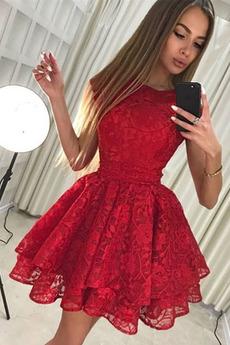 Αμάνικο Έτος 2019 Διακοσμητικά Επιράμματα Κοκτέιλ φορέματα