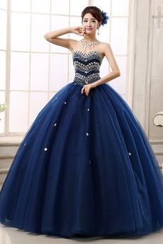 Ανάποδο Τρίγωνο Πολυτελές Φυσικό αγαπημένος Μπάλα φορέματα