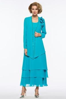 Μέχρι τον αστράγαλο Φυσικό Γραμμή Α Κλεψύδρα Μητέρα φόρεμα