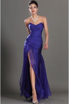 Αμάνικο Γοργόνα αγαπημένος πλέγμα ύφασμα Μπάλα φορέματα