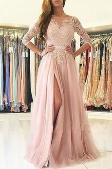 Διακοσμητικά Επιράμματα Γραμμή Α Μηρό-υψηλές σχισμή Βραδινά φορέματα