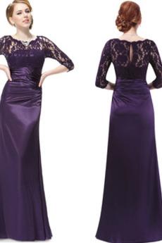 Κόσμημα Επίσημη Ορθογώνιο Κλειδαρότρυπα πίσω Βραδινά φορέματα