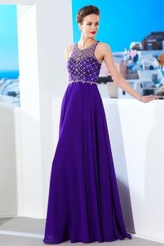 Ντραπέ Κόσμημα τονισμένο μπούστο Σιφόν Έτος 2020 Μπάλα φορέματα