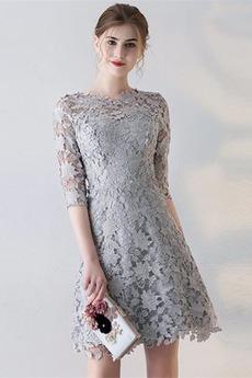 Κόσμημα Φυσικό Γραμμή Α Μικροκαμωμένη Κομψό Κοκτέιλ φορέματα