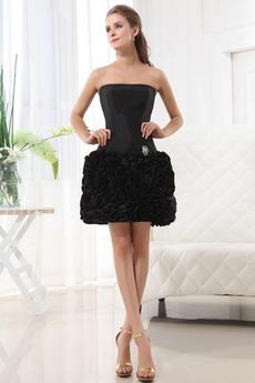 Αποκλειστική Χαμηλή Μέση Τονισμένα ροζέτα Βραδινά φορέματα
