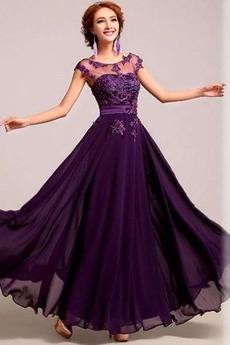Σιφόν Χάντρες κούνια Χειμώνας Φυσικό Γραμμή Α Βραδινά φορέματα
