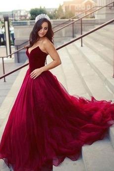 Κομψό Άνοιξη Αμάνικο Φυσικό αγαπημένος Κλεψύδρα Μπάλα φορέματα