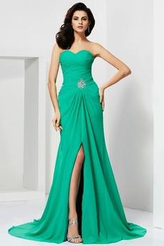 Γραμμή Α Χάνει Μηρό-υψηλές σχισμή Καλοκαίρι Βραδινά φορέματα