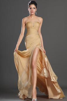Μηρό-υψηλές σχισμή Φερμουάρ επάνω Χαμηλή Μέση Μπάλα φορέματα