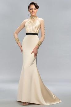 Κόσμημα σικ Καλοκαίρι Γοργόνα βλέπω μέσω Βραδινά φορέματα