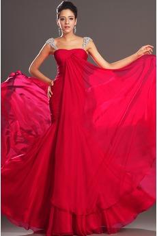 Μικρό Μακρά Σιφόν Τα μέσα πλάτη Άνοιξη Γοργόνα Βραδινά φορέματα