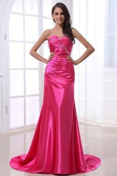 Ύπαιθρος Αμάνικο Μήκος πατωμάτων Πλισέ Χαμηλή Μέση Βραδινά φορέματα