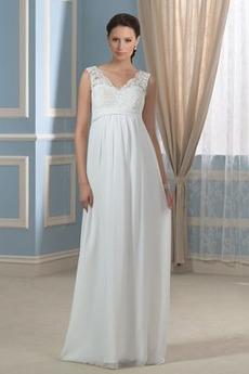 Αμάνικο Χάντρες Μήκος πατωμάτων Λαιμόκοψη V Βραδινά φορέματα