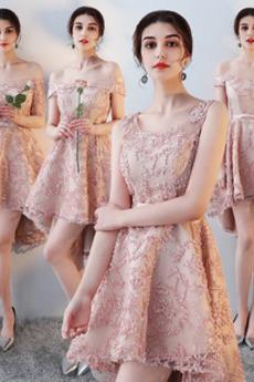 Καλοκαίρι Κομψό Ασύμμετρη Ασύμμετρη Τόξο Παράνυμφος φορέματα