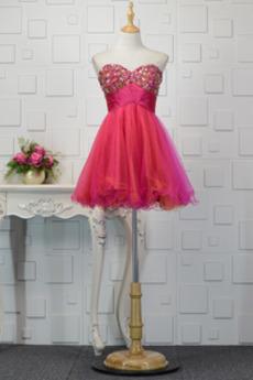 Τούλι Μέχρι το Γόνατο αγαπημένος δραματική Κοκτέιλ φορέματα