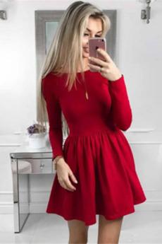 Κόσμημα Φυσικό Σατέν Υψηλή καλύπτονται απλός Κοκτέιλ φορέματα