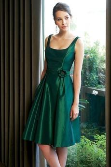 Φυσικό Γραμμή Α απλός Καλοκαίρι Μέχρι το Γόνατο Παράνυμφος φορέματα