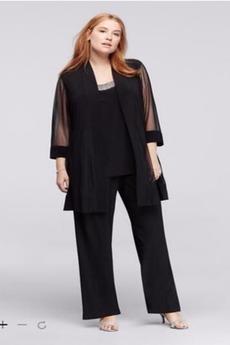 Χάντρες Φυσικό Μέχρι τον αστράγαλο Σιφόν Παντελόνι κοστούμι φόρεμα