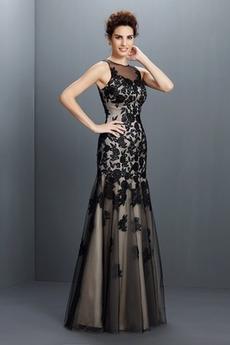 Πολυτελές Έτος 2020 Κόσμημα Γοργόνα Αμάνικο Μπάλα φορέματα