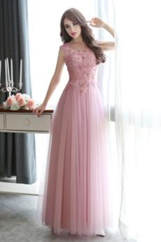 Τούλι Καλοκαίρι Δαντέλα επικάλυψης Δαντέλα Παράνυμφος φορέματα