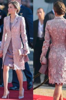 Μητέρα φόρεμα Δαντέλα Έτος 2019 2 κομμάτι Δαντέλα Δαντέλα επικάλυψης