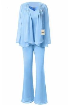 Κομψό Φυσικό Με σακάκι Λαιμόκοψη V Σιφόν Μητέρα φόρεμα