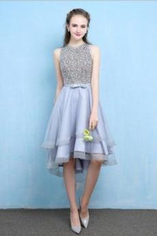 Φυσικό Ασύμμετρη Χάντρες Κόσμημα Ασύμμετρη Κοκτέιλ φορέματα