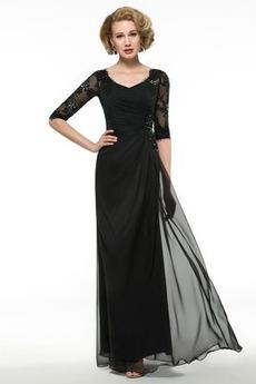 ffea3859b5b2 Χειμώνας Μέχρι τον αστράγαλο Μισό Μανίκι Μητέρα φόρεμα