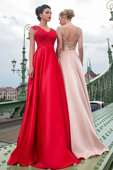 Φυσικό Δαντέλα επικάλυψης Φθινόπωρο εξώπλατο Μπάλα φορέματα