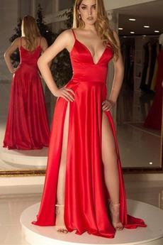 Φυσικό Αμάνικο Τιράντες σπαγγέτι Καλοκαίρι Μπάλα φορέματα