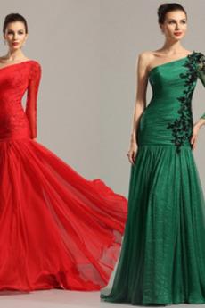 Φυσικό Άνοιξη Διακοσμητικά Επιράμματα Γοργόνα Βραδινά φορέματα