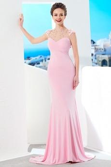 Χάντρες Καλοκαίρι Χάνει Κομψό Κόσμημα Αμάνικο Βραδινά φορέματα